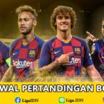 Jadwal Pertandingan Bola Tanggal 21 – 22 Oktober 2019