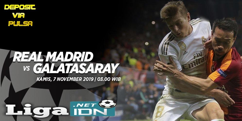 Prediksi Skor Real Madrid vs Galatasaray