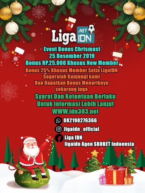 Event Promo Bonus Natal