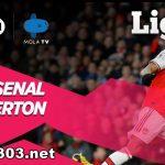 Hasil Pertandingan Arsenal vs Everton Berakhir Dengan Skor 3-2